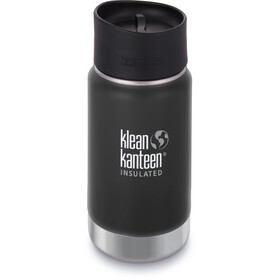 Klean Kanteen Wide Vacuum Insulated Bottle Café Cap 2.0 355ml, shale black matt